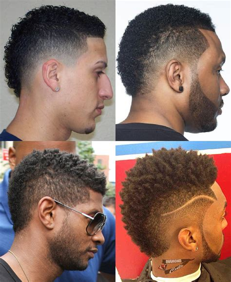 wide mohawk fade short on neck mohawk fade haircut a new take on the hawk