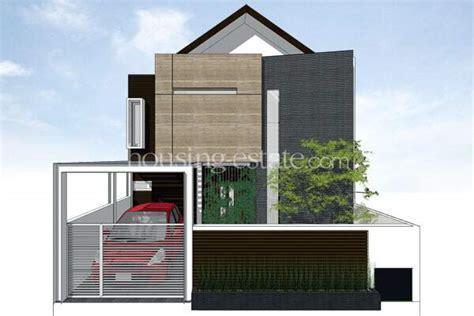 Desain Rumah Hadap Barat | rumah hadap barat dengan wall of memories