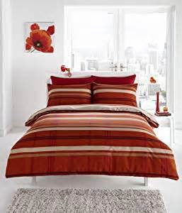 terracotta duvet cover terracotta check king size duvet quilt cover bed set