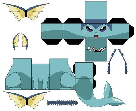 Vaporeon Papercraft - papercraft vaporeon images images