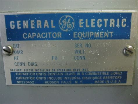 general electric capacitor bank how to check kvar capacitor 28 images lifasa fmd 4050 3 phase power capacitor 50 kvar 400 v