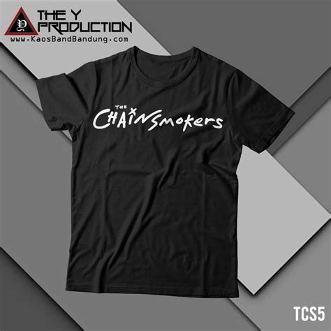 Kaos The 5 kaos the chainsmokers tcs5 kaosbandbandung