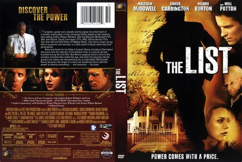the list 2008 dvd scanned covers the list dvd covers