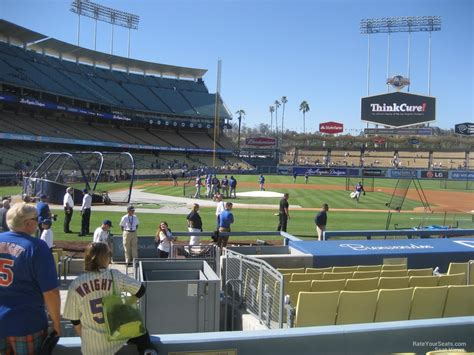 section 14 a dodger stadium section 14 rateyourseats com