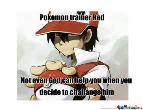 Pokemon Trainer Red Meme - pokemon trainer red by dodo97179 meme center