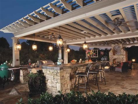 bloombety images of pergola outdoor kitchens images of outdoor kitchens