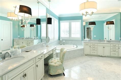 bathroom with two vanities 27 cool blue master bathroom designs and ideas pictures