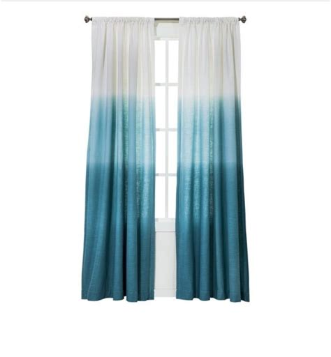 ombre curtain panels ombr 233 turquoise curtains garage remodel pinterest