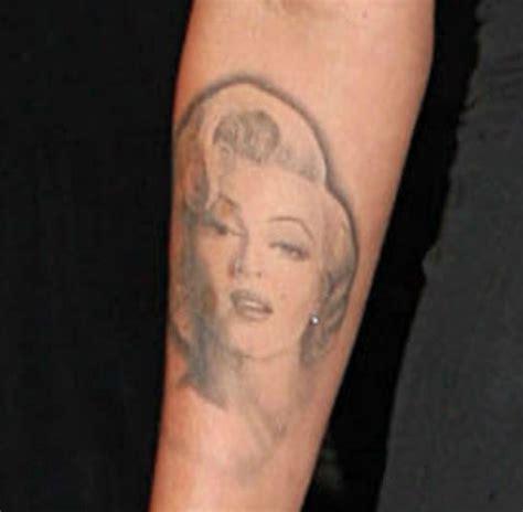 megan fox marilyn monroe tattoo 9 best megan fox designs with meanings