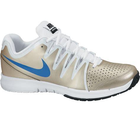 nike vapor court s tennis shoes gold white buy