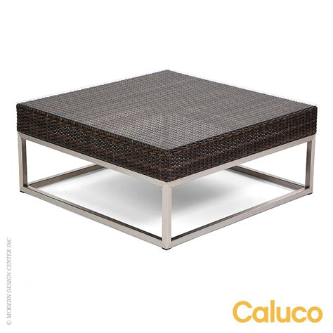 Caluco Patio Furniture Mirabella Coffee Table Caluco Patio Furniture Metropolitandecor