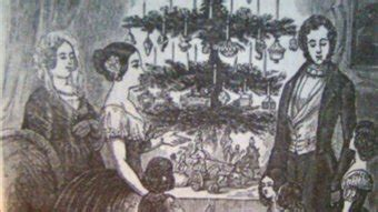 prince albert and the christmas tree traditions done your way abc hobart australian broadcasting corporation