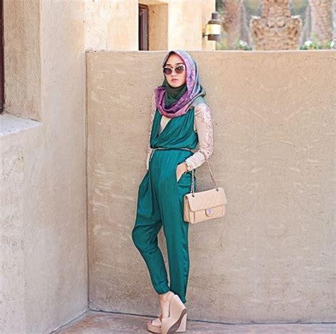tutorial hijab untuk santai liburan 6 tips fashion hijab yang nyaman untuk liburan tokopedia