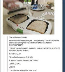 The Defibrillator Toaster 20 Funny Photo Comments Smosh
