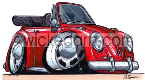 vw beetle convertible red