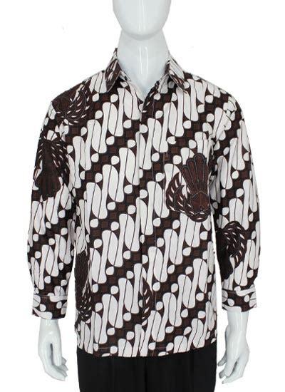 Kemeja Batik Lengan Panjang Parang M881 kemeja batik panjang motif parang barong garuda kemeja lengan panjang murah batikunik