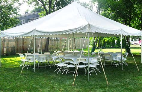 tent and table rentals tents 20x20