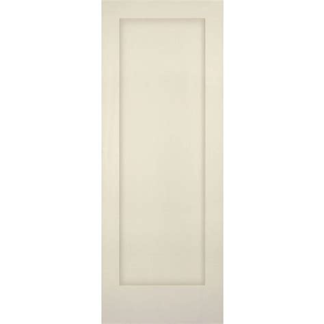 1 Panel Interior Doors Builder S Choice 30 In X 80 In 1 Panel Shaker Solid Primed Pine Single Prehung Interior