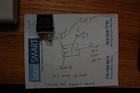 oem denso relay for acc wiring toyota 4runner forum