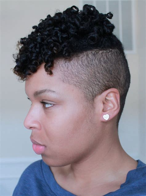 ahirt shaved sides naturalvhairstyle natural hairstyle super curly flexitwist out w shaved