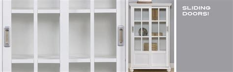 Altra Bookcase With Sliding Glass Doors Shelves With Sliding Doors