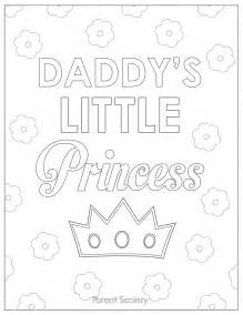 dad and daughter coloring pages