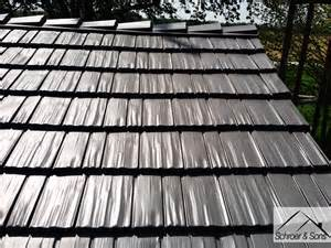 two rustic shingle metal roof installs back to back quick