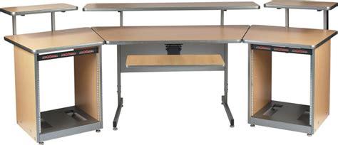 raxxess studio desk raxxess config u raxx system 1 maple sweetwater