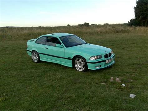mint color car ultra mint green bmw m3 1 of only 3 sold 1994 on