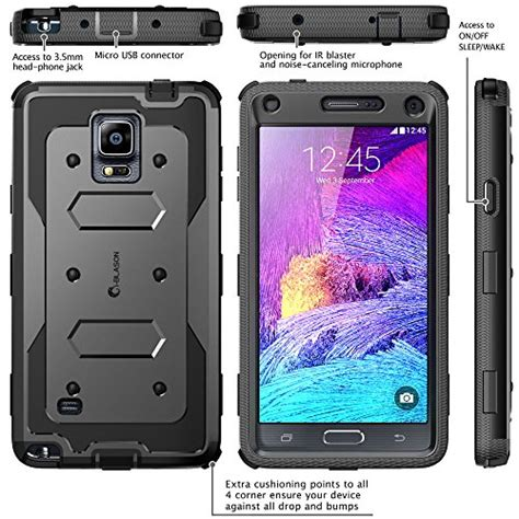 Top Samsung Galaxy Note 4 Bumper Armor Dual Layer Ful Diskon samsung galaxy note 4 i blason armorbox dual layer hybrid protective fro