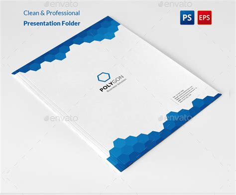 20 presentation folder templates psd download design