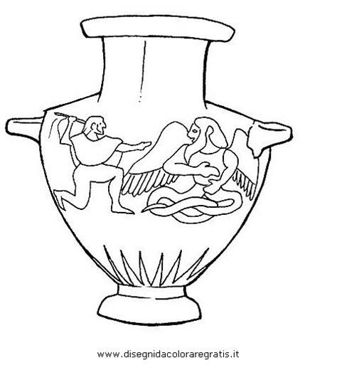 vaso greco da colorare disegno etruschi 19 categoria persone da colorare