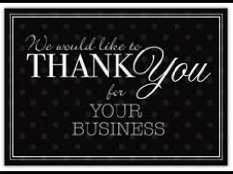 Thank You For Your Business Cards