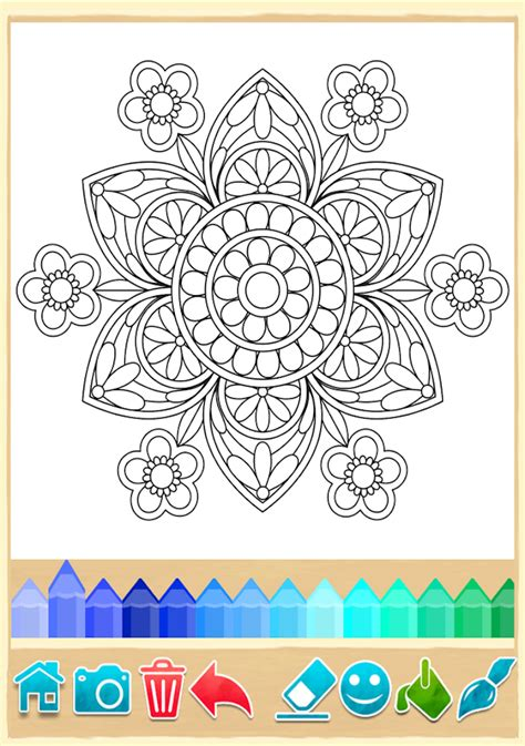 mandala coloring pages app mandala coloring pages android apps on play