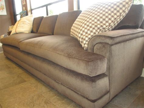 oversized comfortable couches extra large brown velvet love seat sofa bed with two
