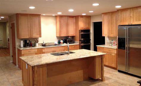 Maple Spice Kitchen Cabinets L E And Kitchen Supply Columbus Kitchens