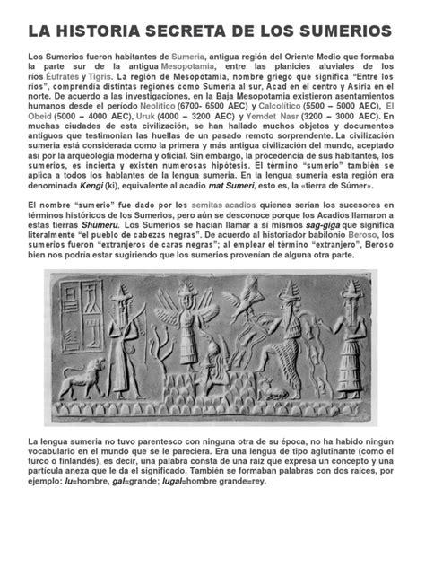 historia secreta de costaguana 8420471283 la historia secreta de los sumerios