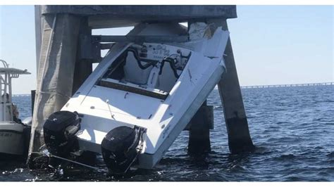 flipboard boating st pete man killed woman injured - Boat Crash By Skyway