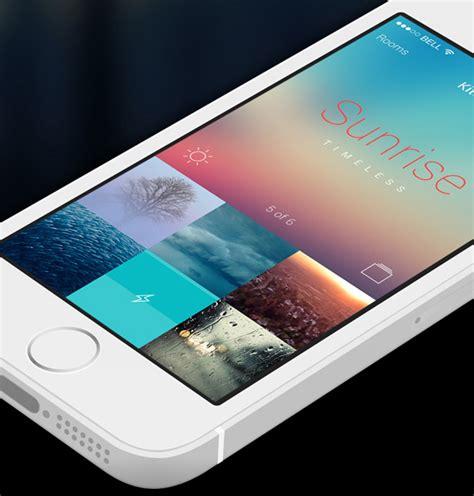 home lighting design app mobile app design inspiration philips hue designbeep