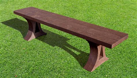 benches made from recycled plastic benches and seats made from british recycled plastic
