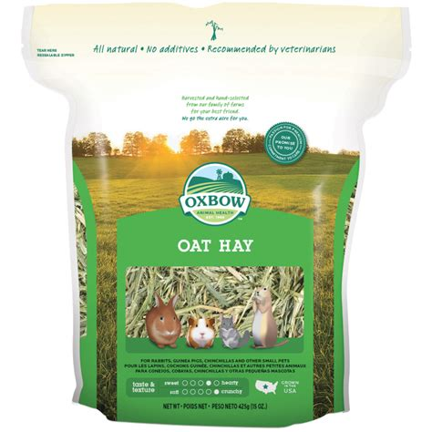 Oxbow Alfalfa Hay 15oz 425gr oat hay 425gm 15oz petlife