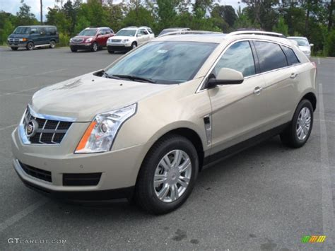 2012 gold mist metallic cadillac srx luxury 53811440 gtcarlot car color galleries