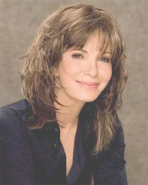 up to date cute haircuts for woman 45 and over 2018 popular medium haircuts for women in their 50s