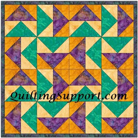 Goose Quilt Pattern by Free Flying Geese Foundation Pattern