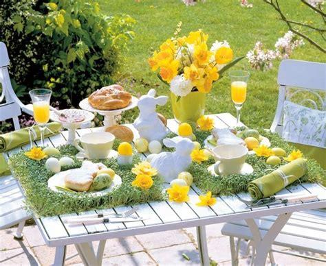 gartendeko ostern garten dekorieren zu ostern und fr 246 hlich festliche