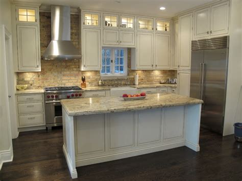 chicago kitchen cabinets award winning kitchen with brick backsplash chicago