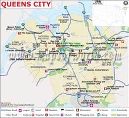 Map Of Queens New York by Astoria Queens Street Maps