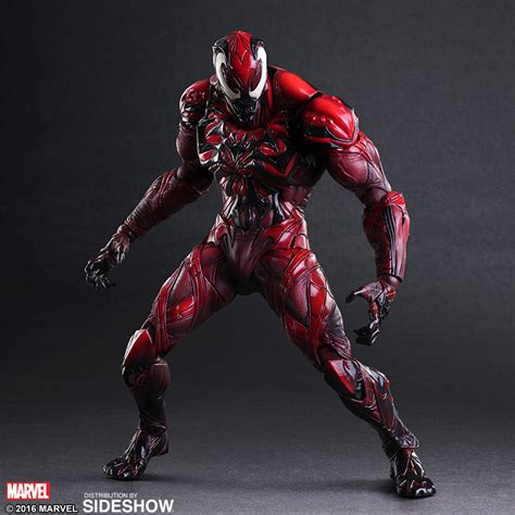 marvel venom collectible figure by square enix sideshow