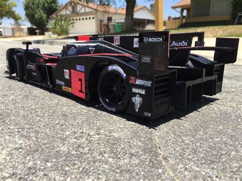 audi 3d printed car 3d printed audi le mans racer reader s ride rc car