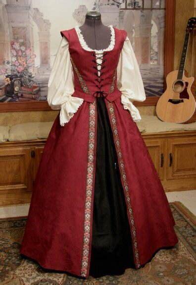renaissance gown pirate dress  abbys field trip